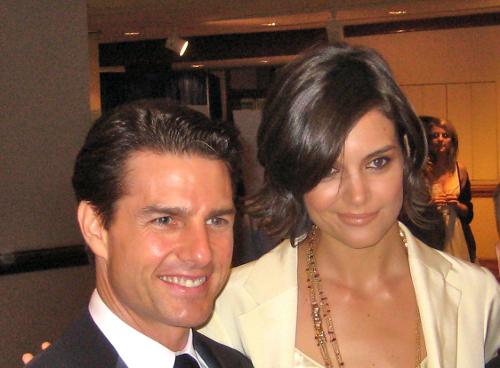 Katie Holmes i Tom Cruise