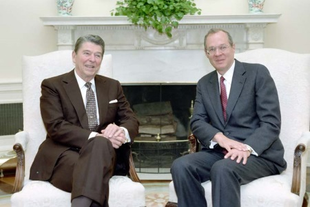 Ronalnd Reagan i Anthony Kennedy