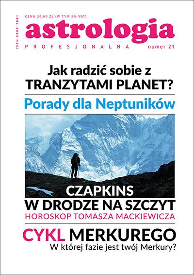"""Kwartalnik """"Astrologia Profesjonalna"""" nr 21"""